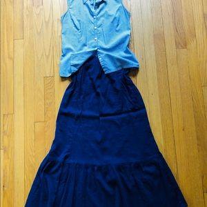Casual Comfortable Long Skirt